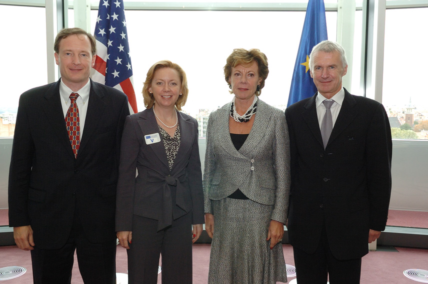 Visit by Deborah Platt Majoras, Chairman of the US Federal Trade Commission, and Thomas O. Barnett, Assistant US Attorney General of the Antitrust Division, to the EC