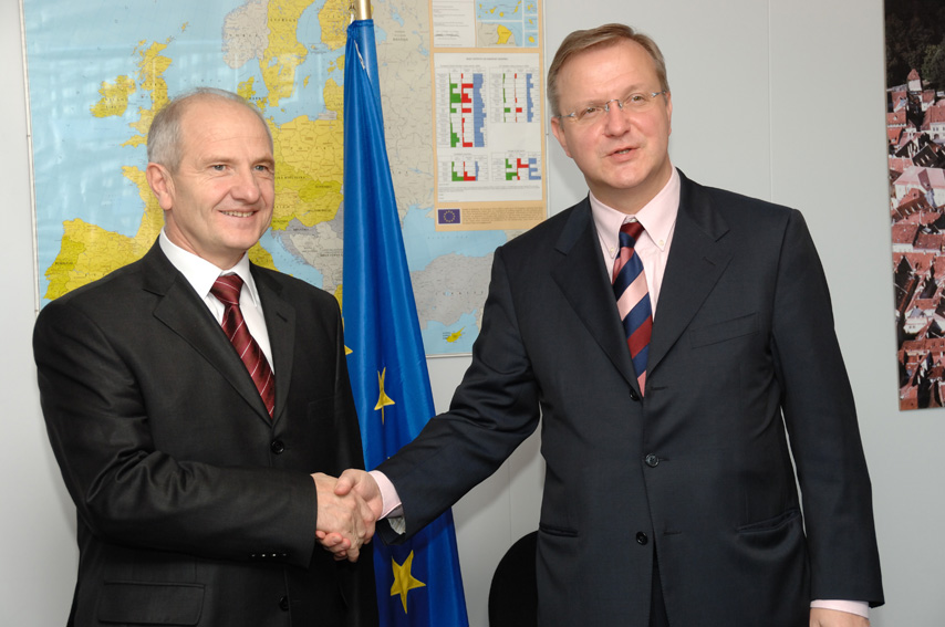 Visit by Fatmir Sejdiu, President of Kosovo, to the EC
