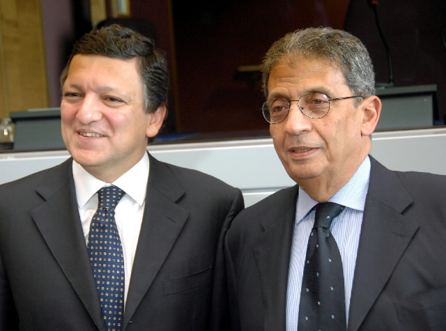 Visit by Amr Moussa, Secretary General of the League of Arab States, to the EC