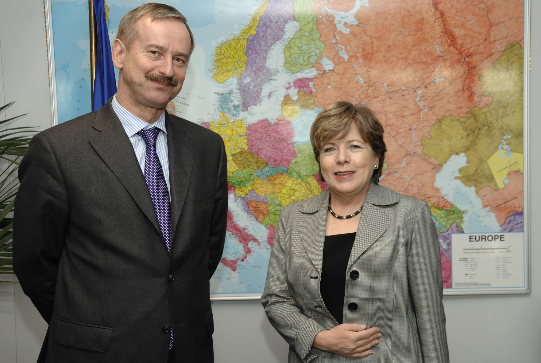 Visit by Alicia Barcena, Deputy Secretary General for Management of the United Nations, to the EC