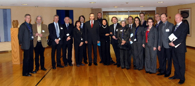 Visit by a delegation from the European Festivals Association to the EC