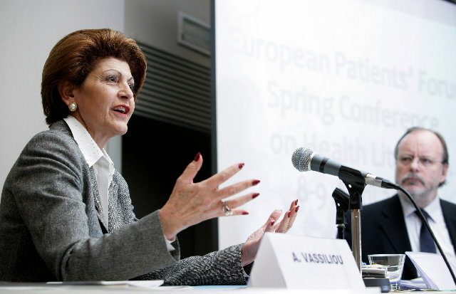 Speech by Androulla Vassiliou at the European Patients' Forum conference