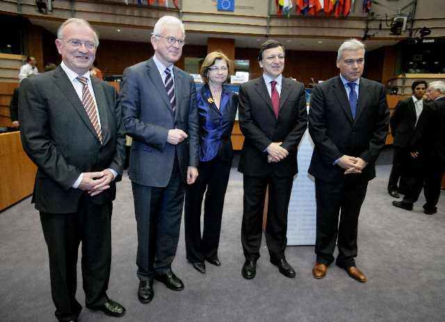 Participation of José Manuel Barroso in the 50th anniversary celebrations of the EESC