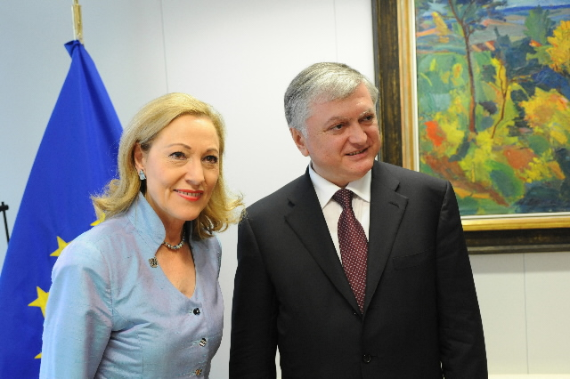 Visit by Edward Nalbandian, Armenian Minister for Foreign Affairs, to the EC