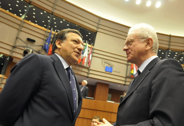 Participation of José Manuel Barroso, President of the EC, at the EP plenary session