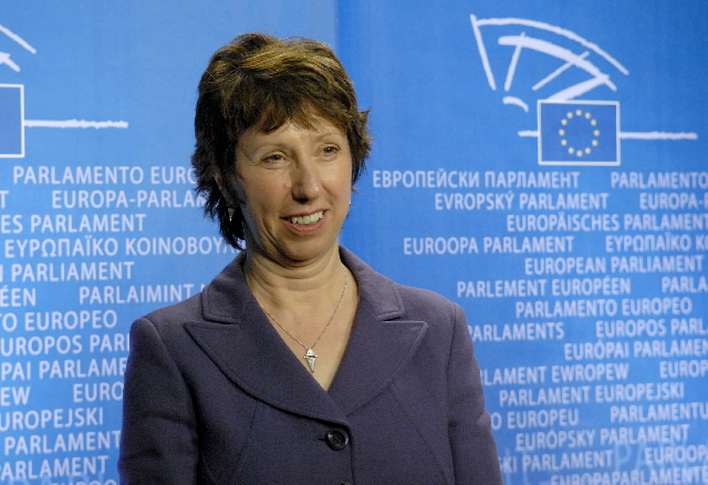 Hearing of Catherine Ashton, Member of the EC, at the EP