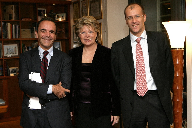 Participation of Viviane Reding, Member of the EC, in the meeting with the CEOs of Italian telecoms