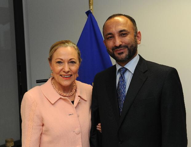 Visite de Mohammad Hanif Atmar, ministre afghan de l'Intérieur, à la CE