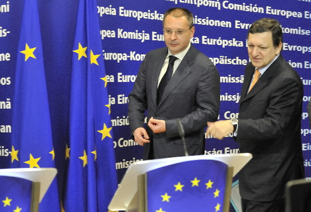 Visit of Sergueï Stanichev, Bulgarian Prime Minister, to the EC