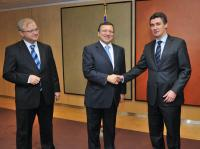 Visit of Zoran Milanović, President of the Social Democratic Party of Croatia, to the EC