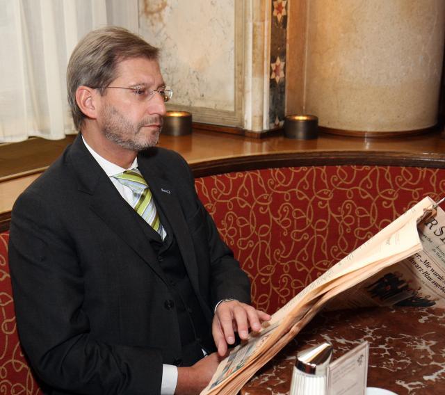 Johannes Hahn, Member designate of the EC