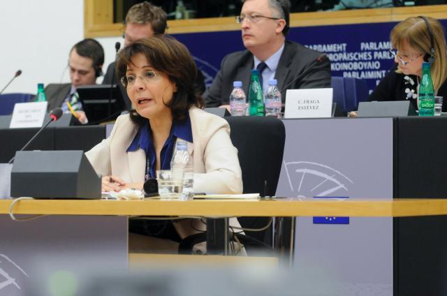 Audition de Maria Damanaki, membre désignée de la CE, au PE