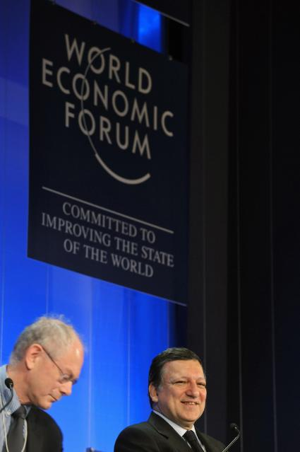 Participation of José Manuel Barroso, President of the EC, at the World Economic Forum on Europe 2010
