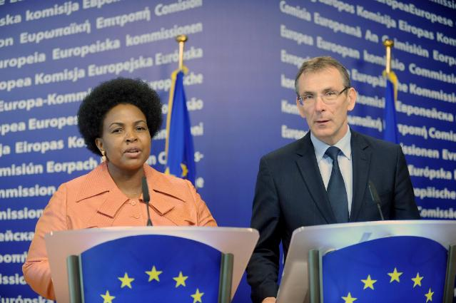 Joint press conference by Andris Piebalgs, Member of the EC, and Maite Nkoana-Mashabane, South African Minister for International Relations and Cooperation