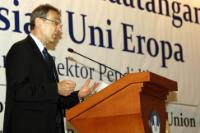 Visit of Andris Piebalgs, Member of the EC, to Indonesia