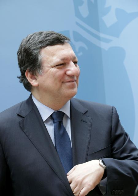 Meeting between José Manuel Barroso, President of the EC, and Jean-Claude Juncker, Luxembourger Prime Minister