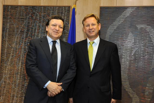 Visit of Hartmut Ostrowski, Chairman and CEO of Bertelsmann AG, to the EC