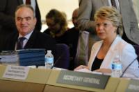 Meeting between Viviane Reding, Member of the EC, and Thorbjørn Jagland, Secretary General of the Council of Europe