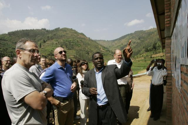 Visit of Andris Piebalgs, Member of the EC, to Rwanda