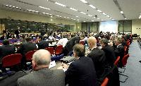 The participants at the EU Energy Ministers Coordination Meeting on nuclear plant situation in Japan and nuclear security
