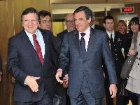 Visit of François Fillon, French Prime Minister, to the EC