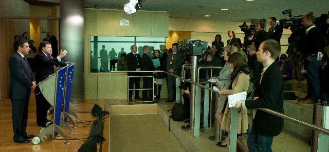 Visit of François Fillon, French Prime Minister, to the EC