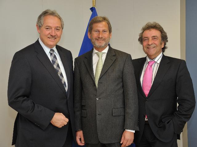 Visit of Viktor Sigl, Regional Minister for Economic Affairs of the Government of Upper Austria, to the EC