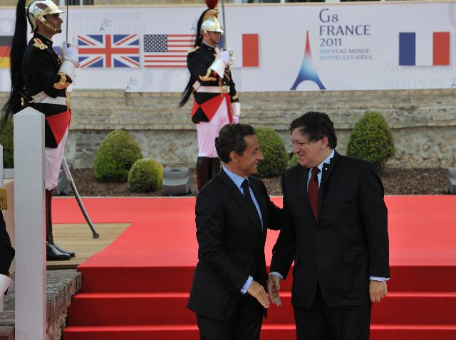 Sommet du G8 à Deauville