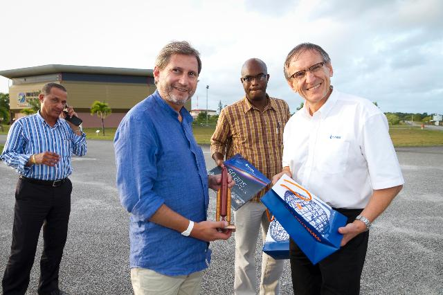 Visit of Johannes Hahn, Member of the EC, to French Guiana