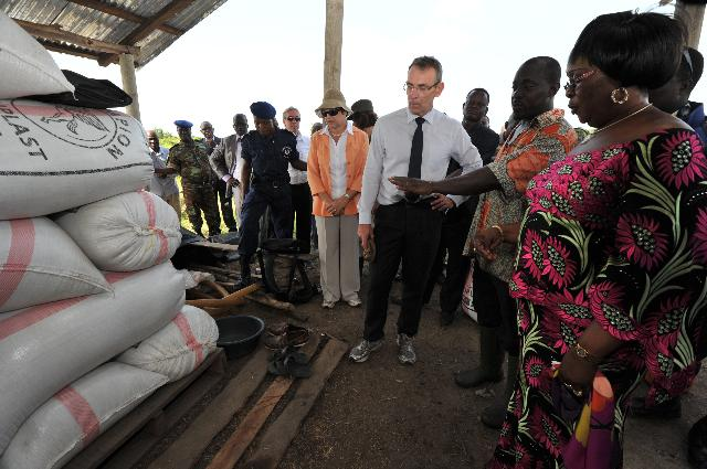 Visit of Andris Piebalgs, Member of the EC, to Western Africa