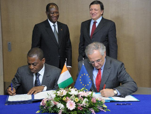 Visit of Alassane Ouattara, President of Côte d'Ivoire, to the EC