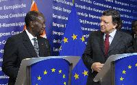 Visit of Alassane Ouattara, President of Côte d'Ivoire, to the EC