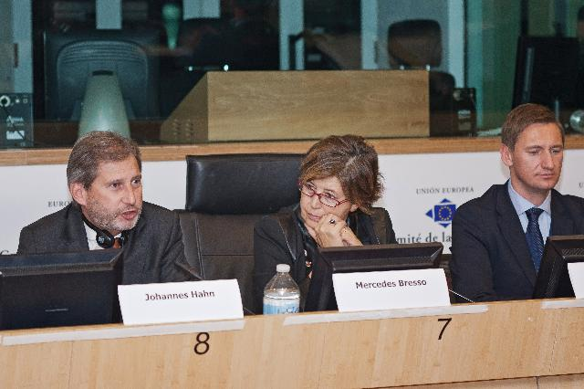 Participation of Johannes Hahn, Member of the EC, at the Conference on the EU Strategy for the Baltic Sea Regions: future, innovation & transfer of knowledge, organised by the CoR