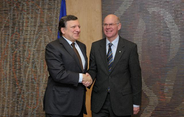 Visit of Norbert Lammert, President of the German Bundestag, to the EC