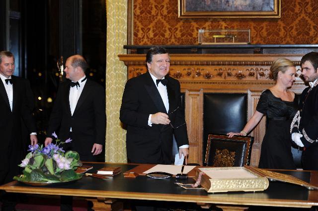 Visit of José Manuel Barroso, President of the EC, to Germany