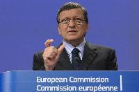 Conférence de presse de José Manuel Barroso, président de la CE, sur l'Economie et la Grèce