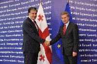 Visit of Mikheil Saakashvili, President of Georgia, to the EC