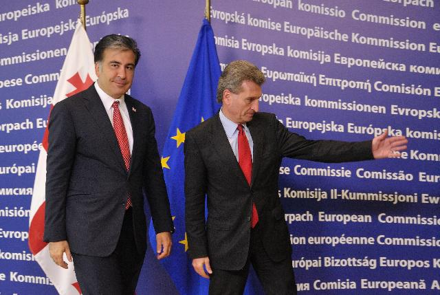 Visit of Mikheil Saakashvili, President of Georgia, to the EC