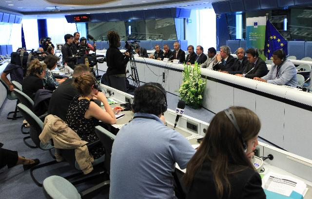 Joint press conference by Carlos César and Johannes Hahn, in the framework of the 2nd Forum on the Outermost Regions