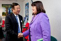 Visit of Ren Zhengfei, CEO of the Huawei Technologies, to the EC