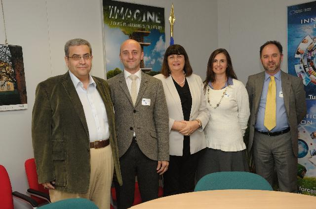 Visit to the EC of a group of stakeholders involved in Open Access to Research Publications