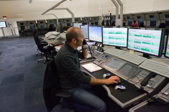 The Eurocontrol Maastricht control centre