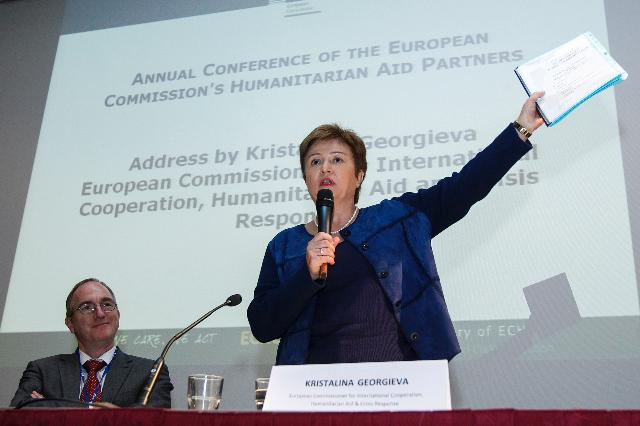 Participation of Kristalina Georgieva, Member of the EC, at the Annual Partners Conference of the DG