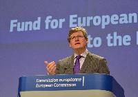 Press conference by László Andor, Member of the EC, on the Fund for European Aid to the Most Deprived
