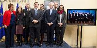 Participation of José Manuel Barroso, President of the EC, in the announcement ceremony of the Laureates of the EU Children of Peace Prize