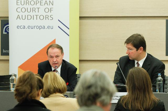 Press conference by Harald Wögerbauer, Member of the Court of Auditors, on the energy efficiency in the EU