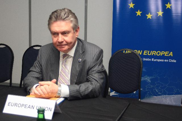 Visit of Karel De Gucht, Member of the EC, to Chile