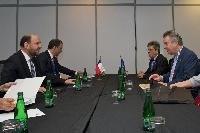 Visit of Karel De Gucht, Member of the EC, to Chile