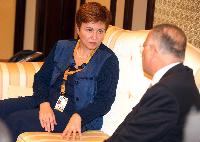 Participation of Kristalina Georgieva, Member of the EC, at the 1st  high-level International Pledging Conference for Syria, organised in Kuwait