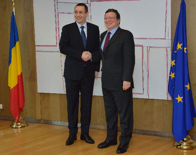 Visit of Victor Ponta, Romanian Prime Minister, to the EC